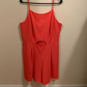 Kenzie Sleevless Romper with Cut-out